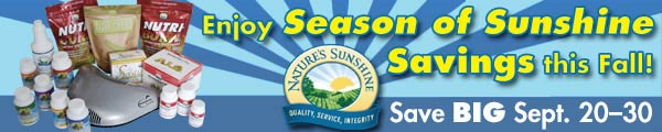 Nature's Sunshine Products - Product Specials