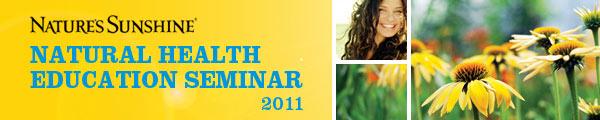 Natural Health Seminar