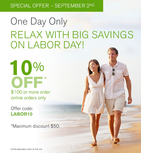 Nature's Sunshine Products - Labor Day Special