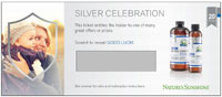Silver Celebration Ticket