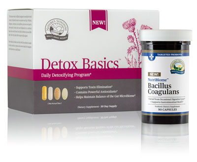 Detox Basics and Bacillus Coagulans