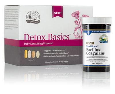 Detox Basics and Bacillus Coagulans