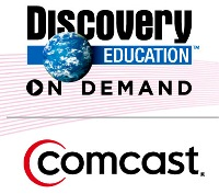 Comcast and DE On Demand  Logos