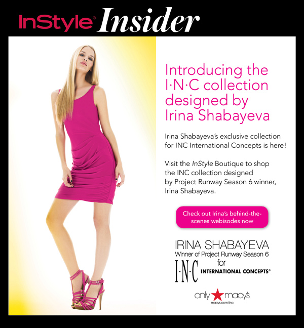 Click here to shop the INC Collection by Irina Shabayeva