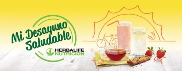 Herbalife Healthy Breakfast banner