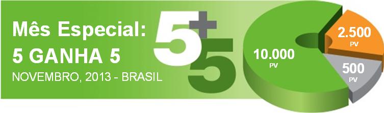 5 GANHA 5