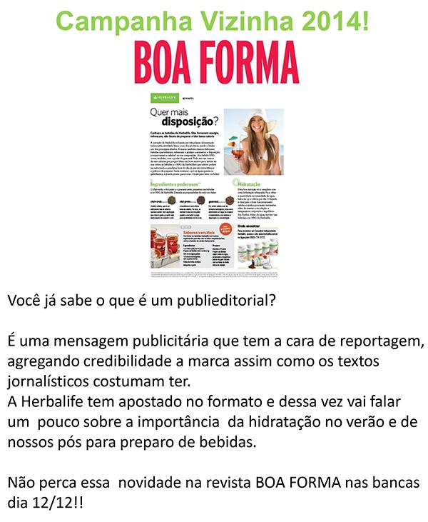 Exact target exclusivo BOA FORMA_12.12