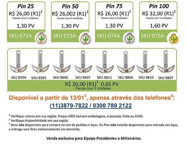 Pins de Consumo e Duplicao 2015-2