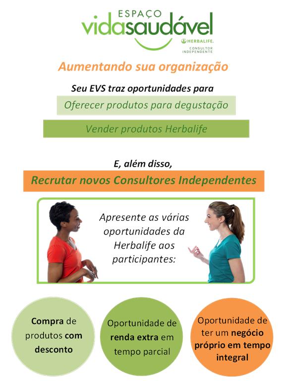 Recrutamento EVS - Aumentando sua organizacao - Pagina 1