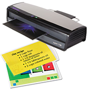 Fellowes Laminator and Laminating Pouches