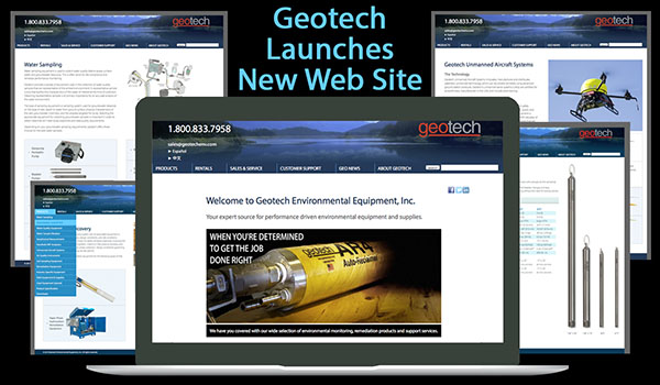 Geotech Launches New Web Site