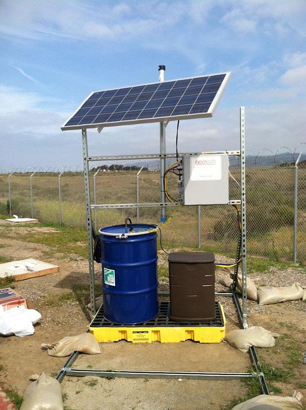 Solar Sipper Installation