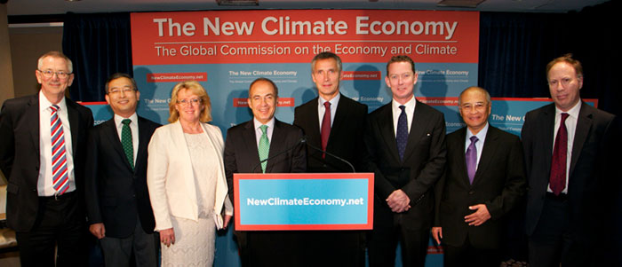The New Climate Economics